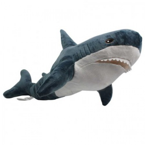 Мягкая игрушка Акула 70 см оптом