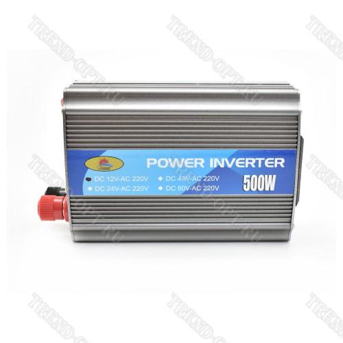 Автомобильный инвертор 12V 500W