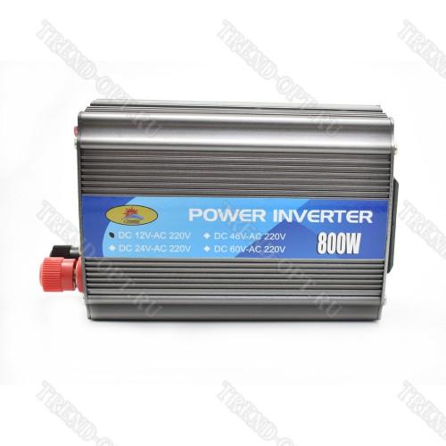 Автомобильный инвертор 12V 800W