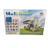 14 в 1 Конструктор на солнечной батарее Robot kits