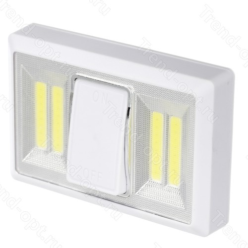 Выключатель светодиодный на батарейках