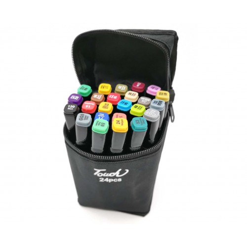 Набор маркеров для скетчинга 24 цвета оптом