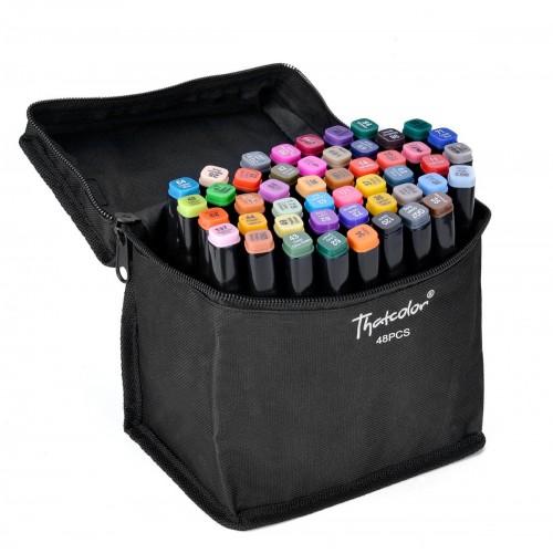 Набор маркеров для скетчинга 48 цветов оптом