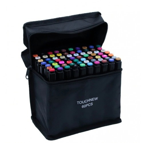 Набор маркеров для скетчинга 60 цветов оптом