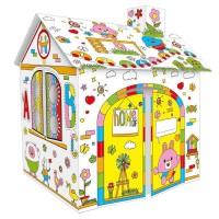 Картонный дом раскраска DIY HOUSE DOODLE оптом