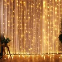 Гирлянда-штора 300*200см LED (8 режимов) оптом