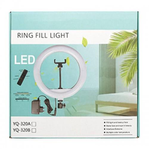 Светодиодная кольцевая лампа YQ-320A 32см оптом