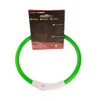 Светодиодный ошейник для собак с USB оптом