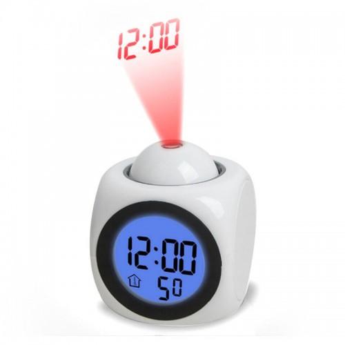 Часы-будильник с проекцией оптом