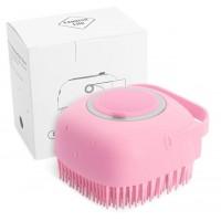 Силиконовая массажная щетка Silicone Massage Bath Brush оптом