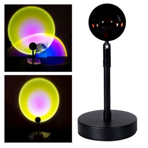 Декоративная лампа с проекцией заката Sunset Lamp оптом