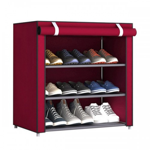 Складной тканевый шкаф для обуви оптом