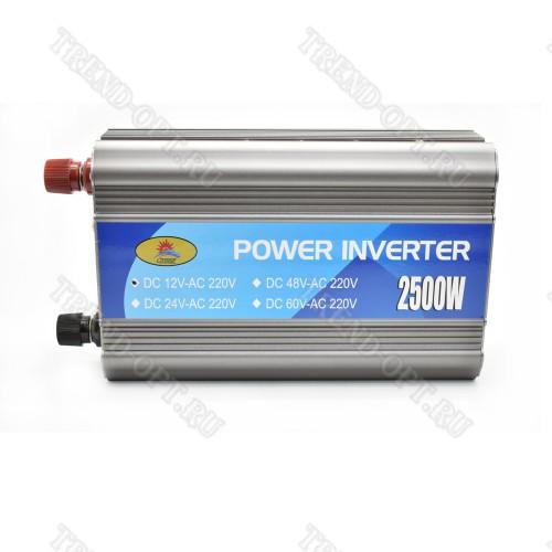 Автомобильный инвертор 12v 2500w