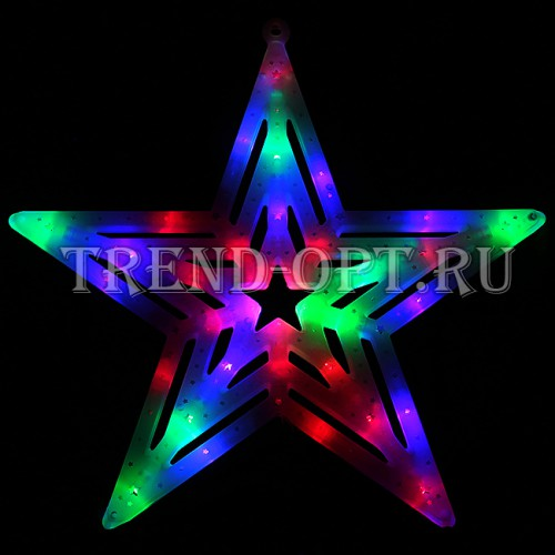 Фигура новогодняя Звезда LED