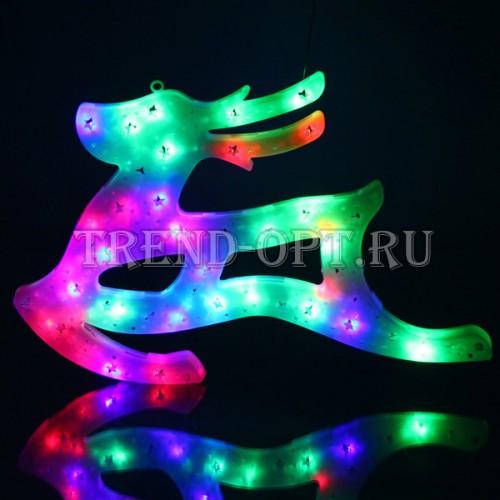 Фигура новогодняя Олень LED