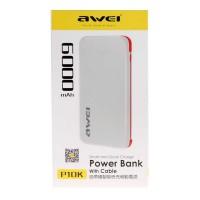 Портативное зарядное устройство Awei P10K