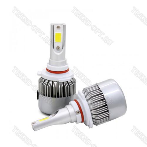 Комплект светодиодных авто LED ламп, головной свет 9006-HB4
