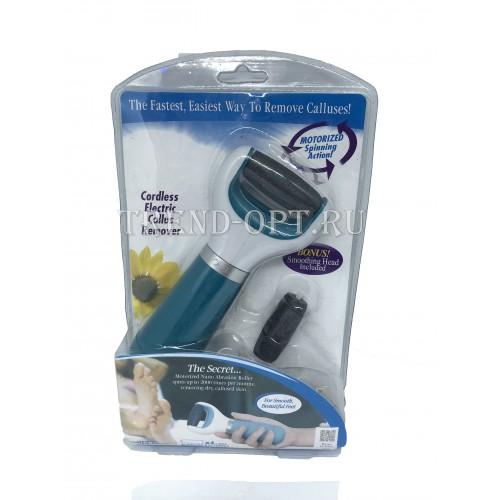 Электрическая пилка для удаления огрубевшей кожи стоп с USB-кабелем