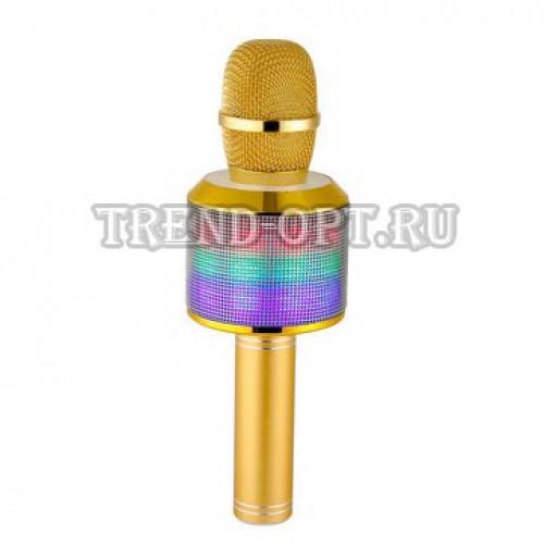 Bluetooth караоке микрофон MD-01 со cветомузыкой