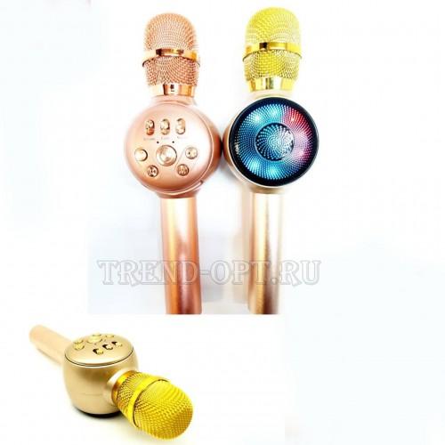 Bluetooth караоке микрофон MD-02 со cветомузыкой