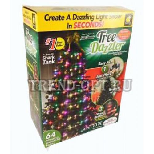 Гирлянда на елку Tree Dazzler Ring 64 дет.