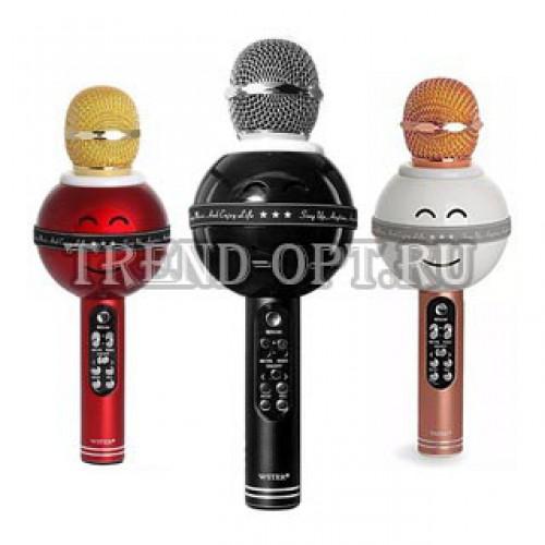 Беспроводной караоке микрофон ZBX-919