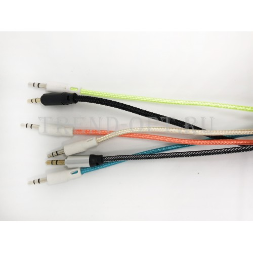 Соединительный кабель Aux 3.5 mm в оплетке