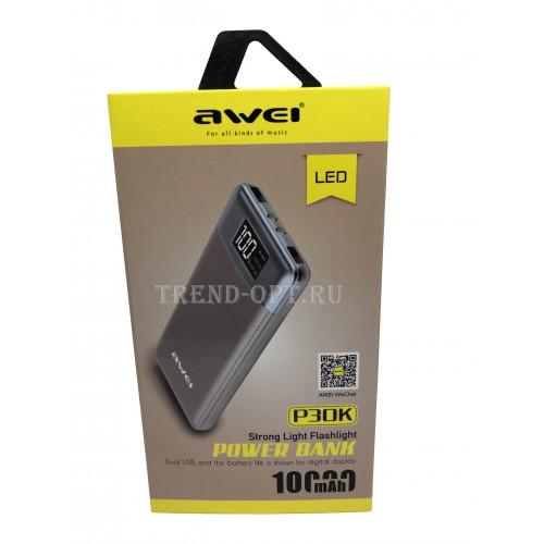 Внешний Аккумулятор Awei P30k
