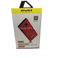Беспроводной Повербанк  Powerbank Awei Р60к