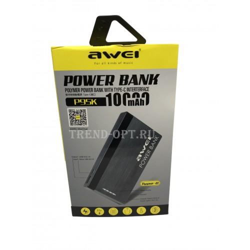 Беспроводной Повербанк  Powerbank Awei Р95к