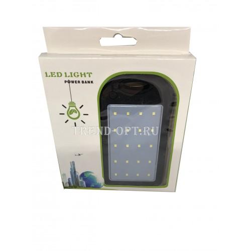 Powerbank Со Встроенной Солнечной Батареей 30000 mah