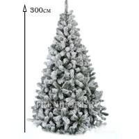 Заснеженная елка Снегурочка 300 см