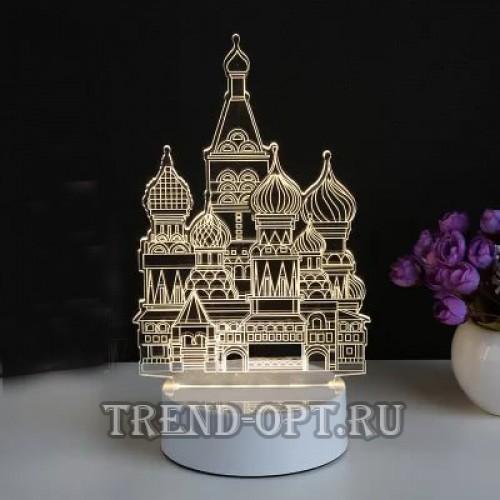 3D светильник Собор