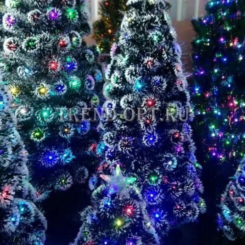 Искусственная елка со светящимися шариками 180 см