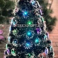 Искусственная елка со светящимися шариками 210 см