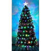 Искусственная елка со светящимися шариками 60 см