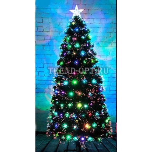 Искусственная елка со светящимися шариками 150 см