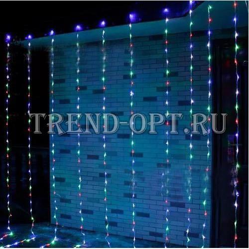 Светодиодная новогодняя гирлянда LED 160 шт. 1,5*1,5м