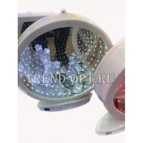 Зеркало 3D бесконечность Круг