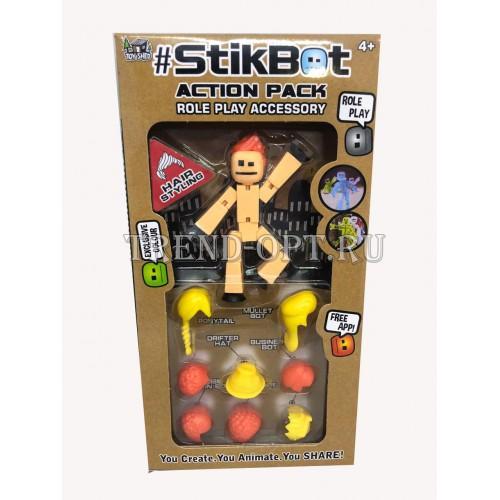 Игрушка Stikbot Фигурки с аксессуарами