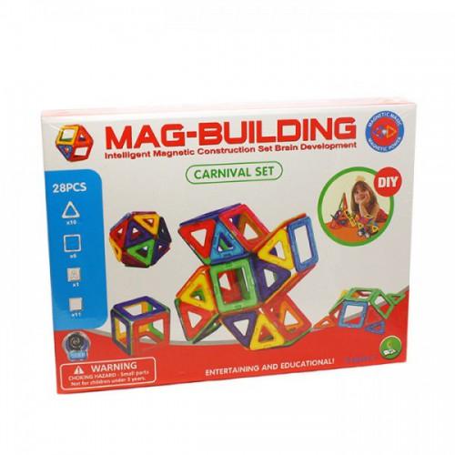 Магнитный конструктор Mag Building (28деталей)