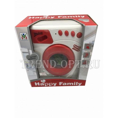Happy family Стиральная машинка красная