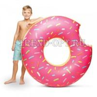Надувной круг пончик D=70см