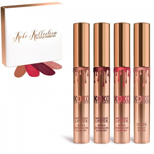 Набор помад Kylie Koko Kollection 4шт оптом