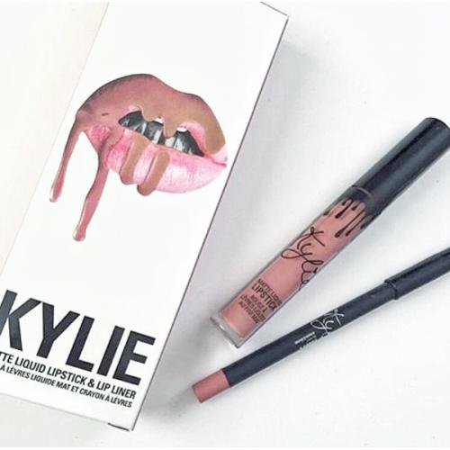 Матовая помада + карандаш Kylie