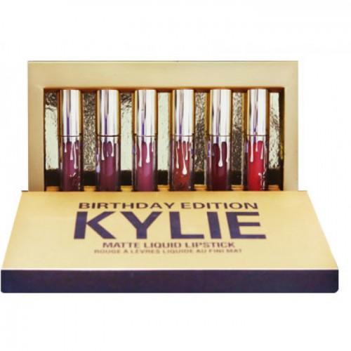 Набор помад Kylie Birthday Edition (6 оттенков) ОПТОМ