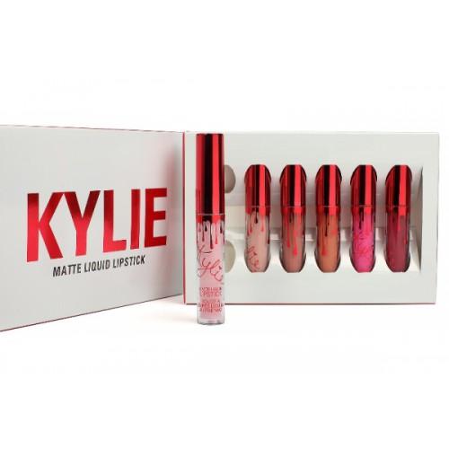 Kylie Matte Liquid lipstick 6шт оптом