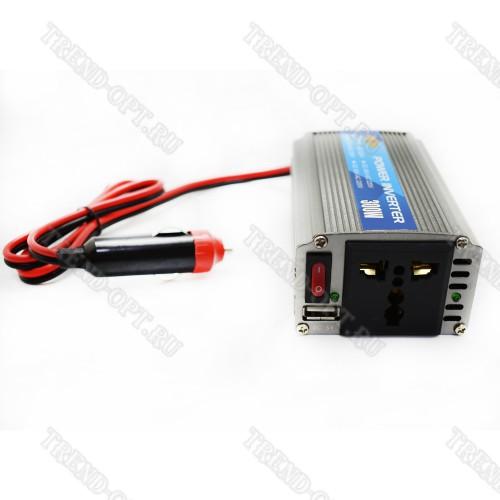 Автомобильный инвертор 12V 300W