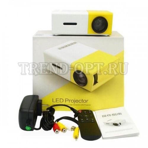 Карманный Мини-проектор Led Projector YG 300