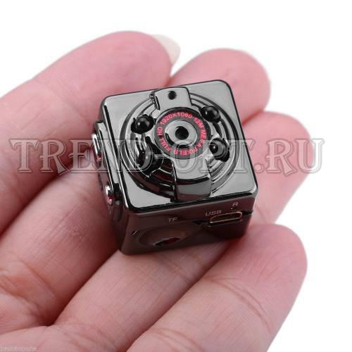 SQ8 Full HD Мини-видеорегистратор c Full HD разрешением